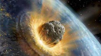 Bumi Ditabrak Meteor