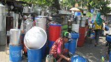 Pedagang di Pasar Gembreng